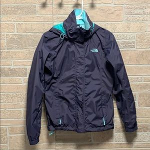 The North face rain jacket ***flawed***